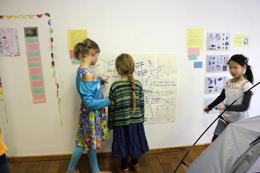 Ausstellung linke seite kinder